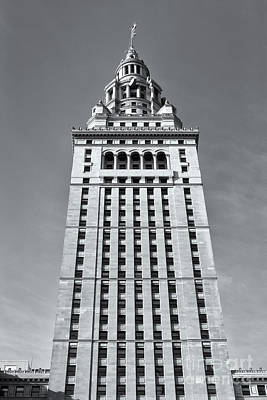 Photograph - Terminal Tower II by Clarence Holmes