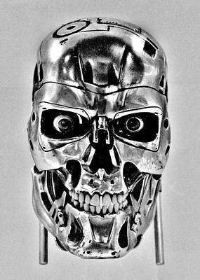 Photograph - Terminator T-800 by Benjamin Yeager