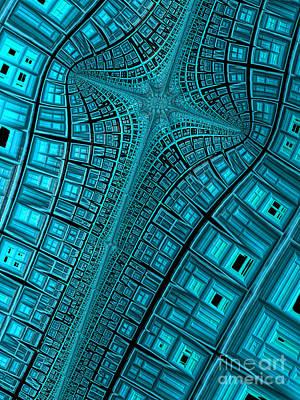 Artistic Digital Art - Terminus by John Edwards