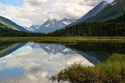 Photograph - Tern Lake Alaska by Richard Smith