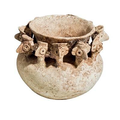 Terra Photograph - Terra-cotta Bowl by Photostock-israel