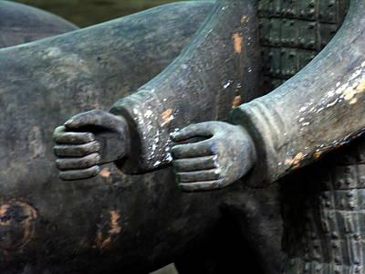 Photograph - Terra Cotta Warriors - Xian - Detail by Jacqueline M Lewis