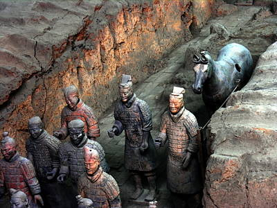 Photograph - Terra Cotta Warriors by Jacqueline M Lewis
