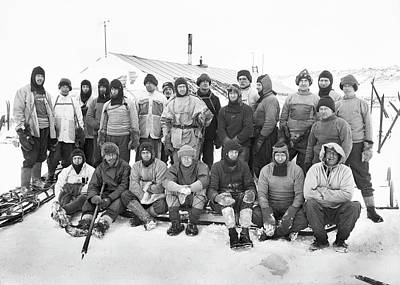 Antarctica Photograph - Terra Nova Antarctic Expedition by Scott Polar Research Institute