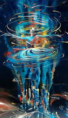 Terra Nova Art Print by Ottilia Zakany