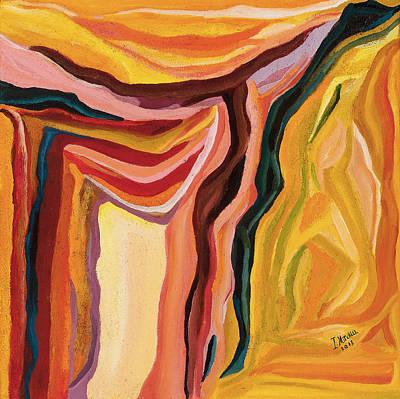 Terra Sand Art Print