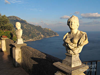 Terrace Of Infinity In Ravello On Amalfi Coast Art Print by Kiril Stanchev