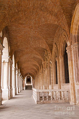 Photograph - Terrace Of The Basilica Palladio In Vincenza  by Brenda Kean