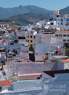 Photograph - Terraced Houses - Almunecar - Spain by Phil Banks