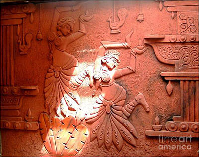 Siporex Relief - Terracotta Dancers by Kreativebrahma Ravichand