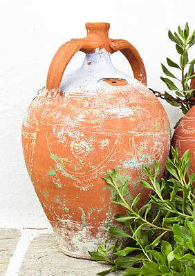 Terracotta Pot Art Print
