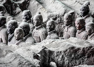 Photograph - Terracotta Soldiers 2 by Karen Saunders