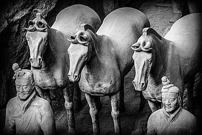 Photograph - Terracotta Soldiers 4 by Karen Saunders