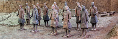 Terracotta Warriors, Xian, Shaanxi Art Print by Panoramic Images