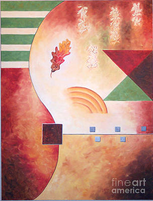 Terraform I- Taos Series Art Print by Teri Brown