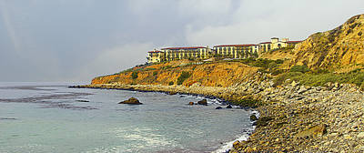 Terranea Resort Art Print by Ron Regalado