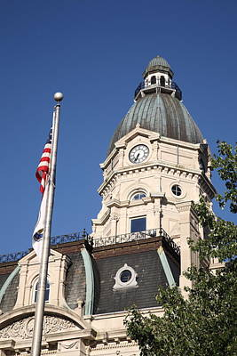 Terre Haute Indiana Photograph - Terre Haute Indiana - Courthouse by Frank Romeo