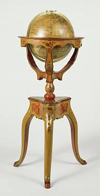 Terrestrial Painting - Terrestrial Globe Globe Terrestre Globe Designed by Litz Collection