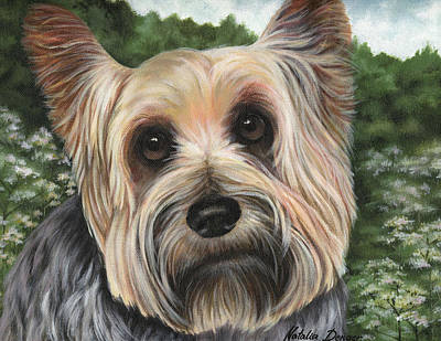 Painting - Terrier Pup by Natasha Denger