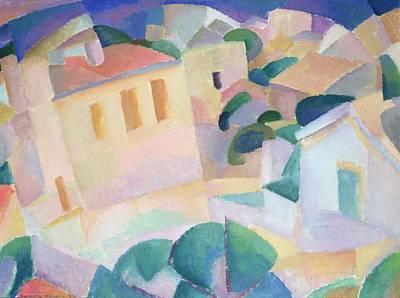 Terrino, Mallorca, 1914 Art Print by Leo Gestel