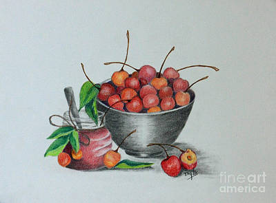 Drawing - Cherry Jelly by Terri Mills