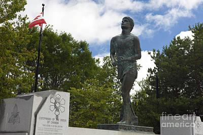Jason Terry Photograph - Terry Fox Monument by Jason O Watson