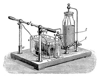 Tesla Photograph - Tesla High-frequency Condenser by Science Photo Library