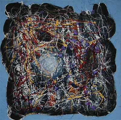 Painting - Tesla's Mind by Dan Koon