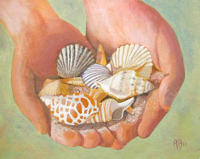 Painting - Tesori Del Mare - Treasures Of The Sea by Robie Benve