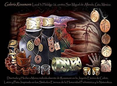 Rossmore Painting - Tesoro Tribal by Galeria Rossmore