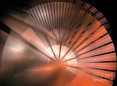 Kim Digital Art - Tessen by Kim Sy Ok