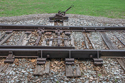 Photograph - Switch Tracks by Dale Powell