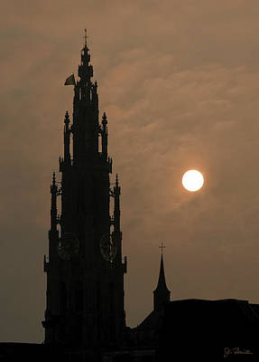 Photograph - Hazy Morning Cathedral by Joe Bonita