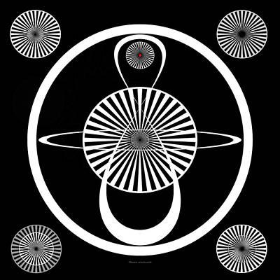 Test Pattern Digital Art - Test Pattern by Thomas Woolworth