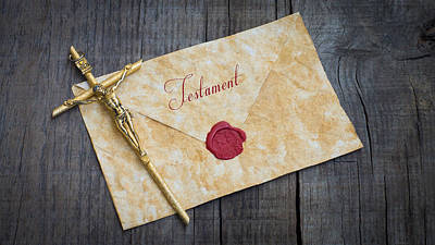 Envelopes Photograph - Testament by Aged Pixel