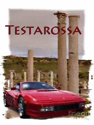 Photograph - Testarossa by Tom Griffithe