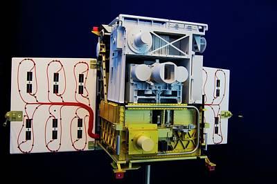 Tet-1 Mini-satellite Art Print by Mark Williamson