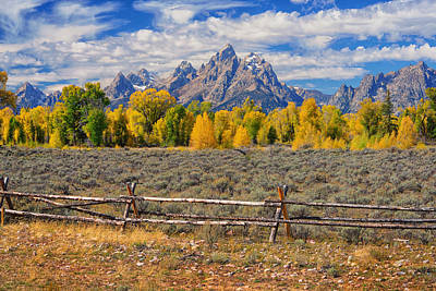 Photograph - Teton Autumn  by Greg Norrell