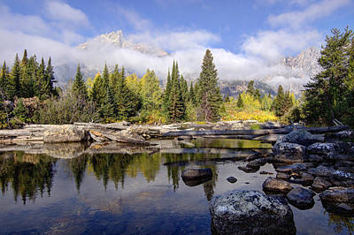 Photograph - Teton Autumn by Jeremy Farnsworth