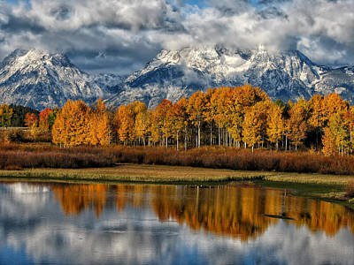 Teton Autumn Art Print