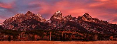 Photograph - Teton Color by Benjamin Yeager