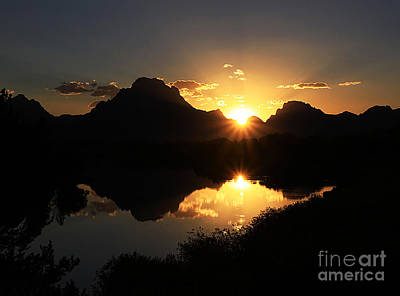 Teton Double Star Art Print by Clare VanderVeen