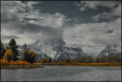 Photograph - Teton by Erika Fawcett