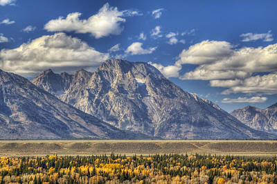 Beauty Mark Photograph - Teton Glory by Mark Kiver