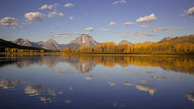 Photograph - Teton Gold by Jack Bell