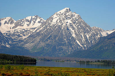 Photograph - Teton Lake by Robert  Moss