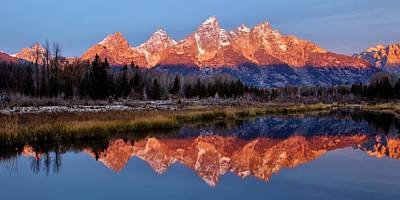 Photograph - Teton Majesty by Benjamin Yeager