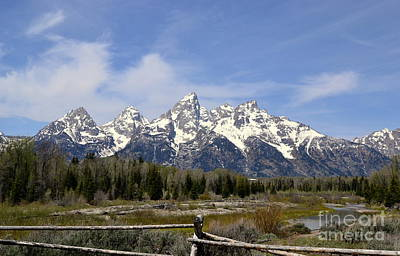 Photograph - Teton Majesty by Dorrene BrownButterfield
