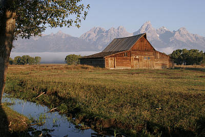 Photograph - Teton Morning Magic by Wes and Dotty Weber
