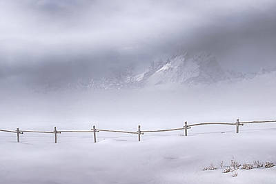 Photograph - Teton Morning by Priscilla Burgers